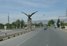Орёл. Въезд в Ленинабад