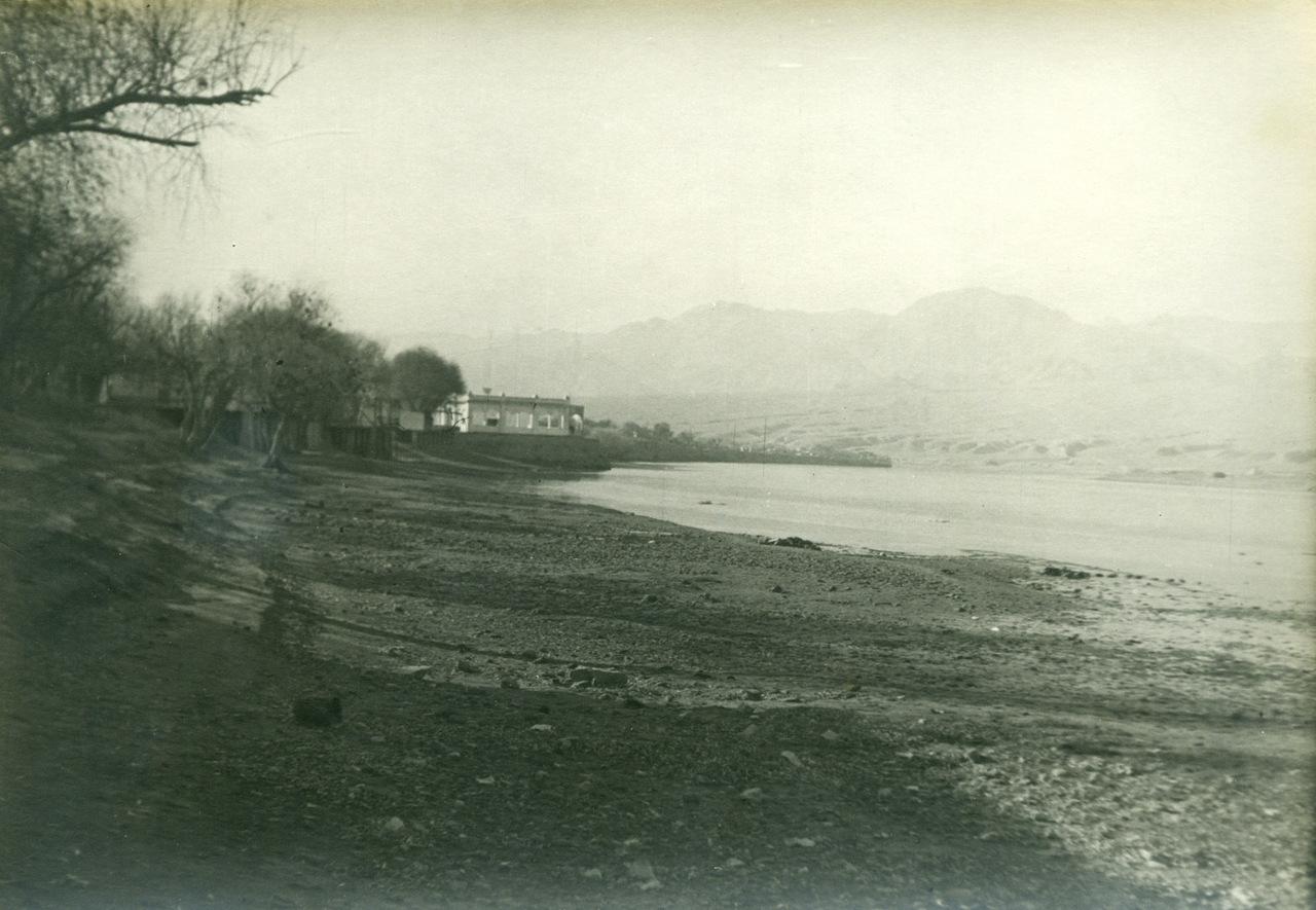 Ленинабад 1946 год, левый берег
